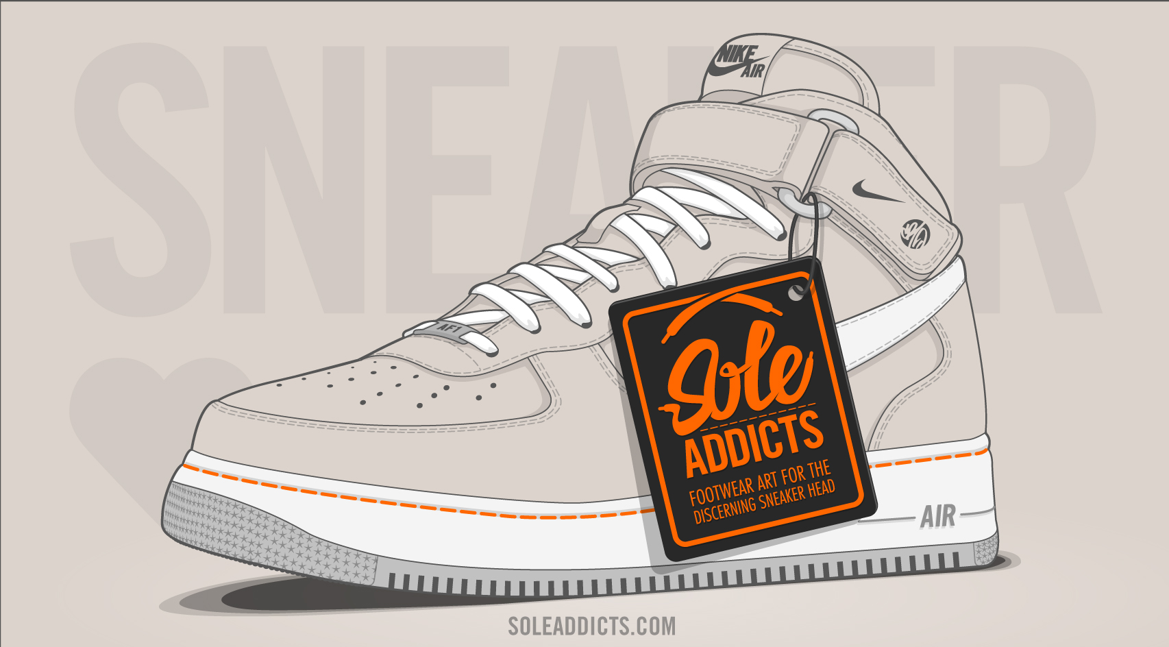 Sole Addicts Sneaker Art - coming soon!